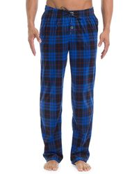 Joe Boxer - Plaid Straight Pants - Lyst