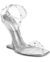 Giuseppe Zanotti - Garconne Inverted Wedge Heel Sandals - Lyst