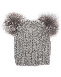 2c8f67ddd Mimi Chunky Women Grey Hat