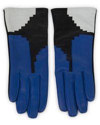 Aristide - Geometric Gloves - Lyst