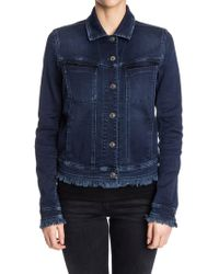 7 For All Mankind - Easy Trucker Jacket - Lyst