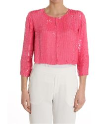 P.A.R.O.S.H. - Sequins Jacket - Lyst