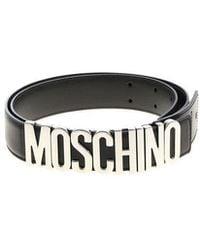 Moschino - Womens Belts - Lyst