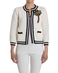 Shirtaporter - Knitted Jacket - Lyst