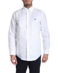 Brooks Brothers - White Oxford Cotton Button Down Shirt - Lyst