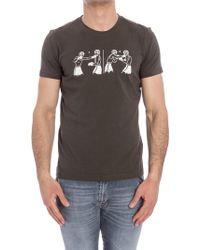 Aspesi - Roundneck T-shirt - Lyst