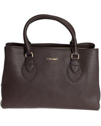 Twin Set - Saffian Effect Leather Bag - Lyst