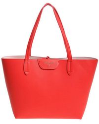 Patrizia Pepe - Red And Pink Reversible Shopping Bag - Lyst