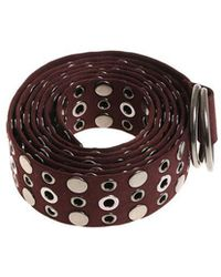 Pinko - Belt With Silver Metal Studs - Lyst
