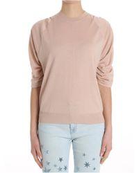Stella McCartney - Gathered Sleeves Sweater - Lyst