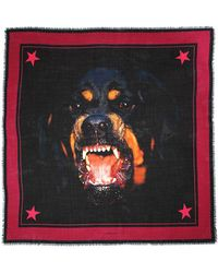 Givenchy - Rottweiler Printed Scarf - Lyst