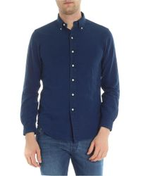 Ralph Lauren - Blue Chambray Button-down Shirt - Lyst