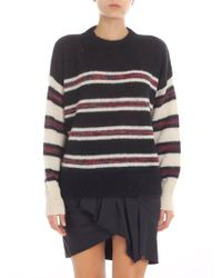"Étoile Isabel Marant - ""russell"" Black And Cream Pullover - Lyst"