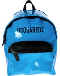 DSquared² - Patent Leather Backpack - Lyst