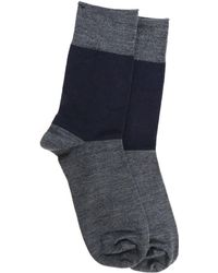 Sofie D'Hoore - Anthracite And Blue Socks - Lyst