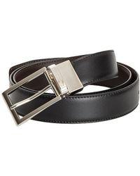 Ermenegildo Zegna - Leather Belt - Lyst