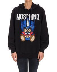Moschino - Cotton Sweatshirt - Lyst