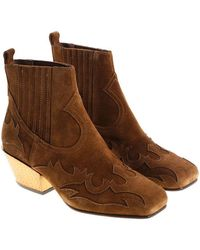 Ash - Brown Texano Ginger Bis Texan Boots - Lyst