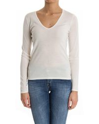 Ralph Lauren Black Label - Cashmere And Silk Sweater - Lyst