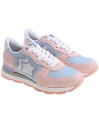 Ice color and pink Vega sneakers Atlantic Stars