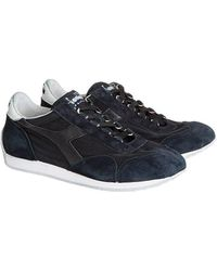 Cheap Sale Cheapest Navy blue Equipe Stone wash 12 sneakers Diadora Factory Outlet Cheap Online Clearance Websites Discount Footaction Wide Range Of Sale Online cwklVpps