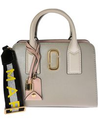 Marc By Marc Jacobs - Little Big Shot Grey Handbag - Lyst