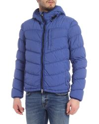 the latest 917a0 33225 Woolrich Polar Down Bomber Jacket With Fur-trimmed Hood in ...