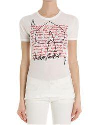 Vivienne Westwood - White Unisex Groaned T-shirt - Lyst