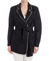 Jucca - Viscose And Linen Jacket - Lyst