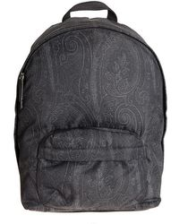 Etro - Fabric Backpack - Lyst