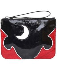 McQ - Solestice Patent And Leather Clutch - Lyst