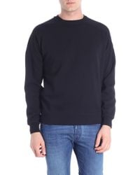 Colmar - Black Sweatshirt With Logo Applied - Lyst