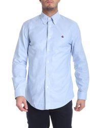 Brooks Brothers - Light Blue Button Down Shirt - Lyst