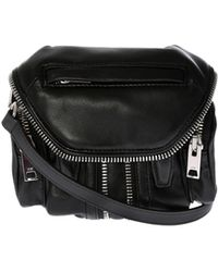 "Alexander Wang - ""micro Marty"" Balck Shoulder Bag - Lyst"