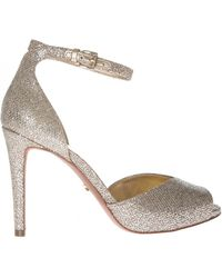 Michael Kors - Cambria Sandals In Silver - Lyst