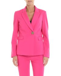 Jucca - Fuchsia One Button Jacket - Lyst