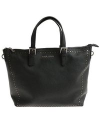 Mia Bag - Shopping Bag With Studs - Lyst