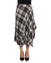 Vivienne Westwood Anglomania - Viscose And Wool Skirt - Lyst