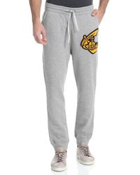 Vivienne Westwood Anglomania - Grey Trousers With Logo - Lyst