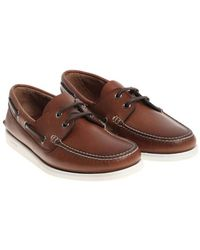 Church's - Brown Dockside Lace Boat Shoes - Lyst