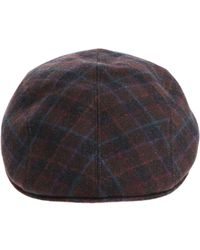 Altea - Black And Brown Beret With Multicolor Details - Lyst