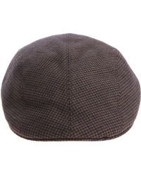 Altea - Army Green Houndstooth Beret - Lyst