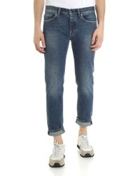 Pence - Blue Malco Jeans With Vintage Effect - Lyst