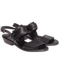 Lemarè - Leather Sandals - Lyst