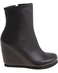 Peter Non - Black Hora Leather Ankle Boots - Lyst