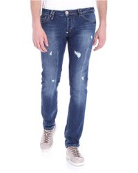 Philipp Plein - Blue Hard To Concert Jeans - Lyst