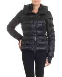 Moncler Grenoble - Armotech Black Down Jacket - Lyst