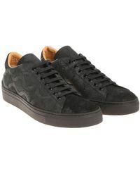 Vivienne Westwood - Black 3d Leather Sneakers - Lyst
