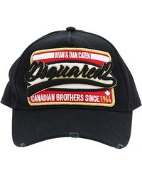 cab724a78648b1 DSquared² Canadian Twins Baseball Cap In Red in Red for Men - Lyst