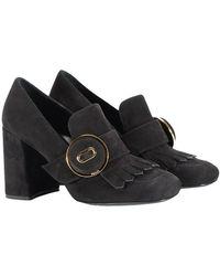Prada - Suede Shoes - Lyst